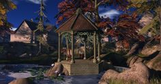 Fantasy Faire 2014 - Medhir Woods_003 Largest Waterfall, Autumn Forest, Woods, Fantasy, Explore, Nature, Naturaleza, Woodland Forest, Forests