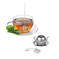 Fish shaped Loose Tea Leaf Passoire Spice Herbal Infuseur Filtre Silicone Théière