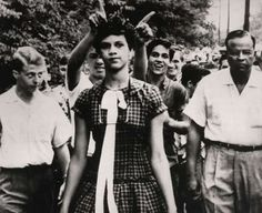 Dorothy Counts: She was one of the first black students admitted to the Harry Harding High School in Charlotte, North Carolina. Her parents made her withdraw after she received four straight days of harassment.