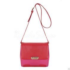 Sac Besace Femme-Elégant sac de messager rouge