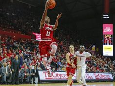 Indiana Hoosiers guard Yogi Ferrell (11) drives to the basket during the first half against the Rutgers Scarlet Knights at the Louis Brown Athletic Center