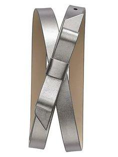 Tuxedo Bow Belt by Banana Republic, $49.50