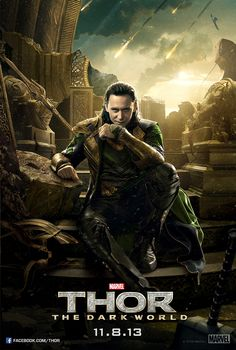 Thor: The Dark World | AMC Exclusive 27x40 | Loki on Throne