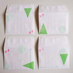 Stamped #envelopes #mail #penpals #showandmail