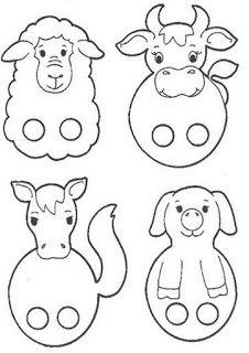 Autismus Arbeitsmaterial: Fingerpuppen Autism working material: finger puppets per bambini Kids Crafts, Bible Crafts, Preschool Crafts, Toddler Activities, Preschool Activities, Paper Puppets, Puppet Crafts, Diy For Kids, Art Lessons