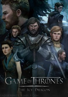 Game of Thrones // Telltale Game Of Thrones Telltale, Game Of Thrones Tv, Game Organization, Fire Fans, Ice Dragon, Life Is Strange, Computer, Best Games, Games To Play