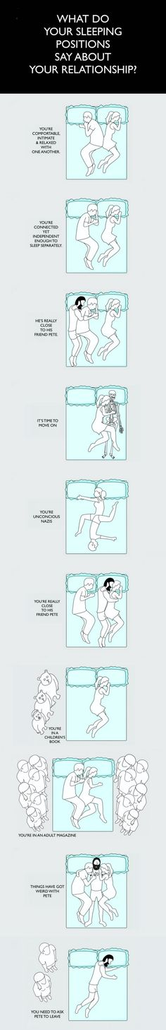 Sleeping positions meanings