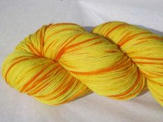 Merino Sock / Fingering Weight Yarn Hand Dyed by WeelambCreations. $17.00, via Etsy. Weelamb Creations