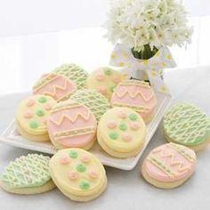Easter Cookies. <3