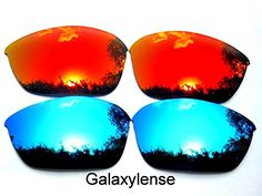 3d347729c8 Galaxy Replacement Lenses For Oakley Half Jacket 2.0 Red amp Blue Polarized  2Ps Oakley Half Jacket