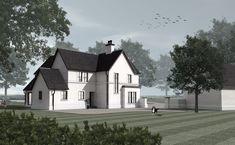 McGuigan Architects | McGuigan Architects » Oak Tree House House Designs Ireland, Exterior Remodel, Oak Tree, New Builds, House Plans, Architects, Mansions, Luxury, House Styles