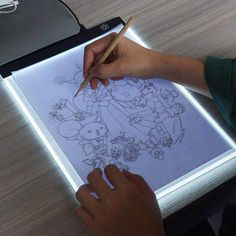 A4 Digital Tablets A4 Led Graphic Artist Thin Art Stencil Drawing Board Light Box Tracing Table Pad Drawing Graphic Tablets Promote The Production Of Body Fluid And Saliva Computer & Office Digital Tablets
