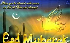 May the noor of this month illuminate ur heart, mind and soul n may all ur duas be answered. Remember me in your Dua. EID MUBARAK