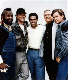A-Team Season 5 The Ateam, Dwight Schultz, Al Smith, Freddy Rodriguez, 20th Century Fox, Mr T, George Peppard, Elvis And Priscilla, Actresses