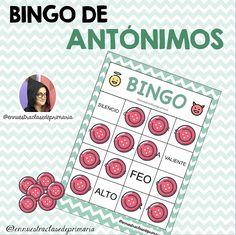 Teaching Spanish, Montessori, Homeschool, Playing Cards, Language, Games, English, Social Studies Activities, Synonyms And Antonyms