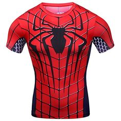 Red Plume Men's Compression Sports Fitness Shirt Armor , Men Spider-man T-shirt (XL) Red Plume http://www.amazon.com/dp/B018GI4R6A/ref=cm_sw_r_pi_dp_wdoZwb1YNS37Y