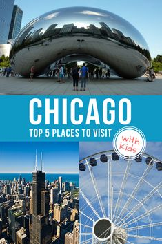 Top 5 Places to Visit in Chicago with Kids (From a Local) #chicagowithkids, #chicagoactivities, #visitchicago