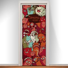 Personalise our Monster Mashup Doodle Door with any name...     Bring a room to life with a personalised printed door from Doodle Doors.  www.doodledoors.co.uk   Great Christmas Present for only £95 including delivery