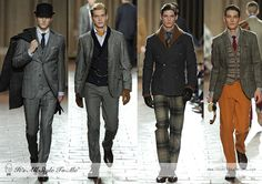 Hackett London FW13 - http://itsallstyletome.com/2013/01/08/hackett-london-fallwinter-2013/