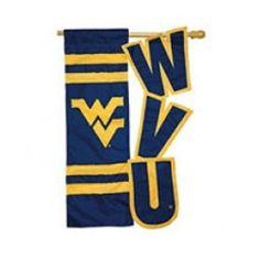 WVU House Flag