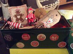 boite de Noel pour Gisèle