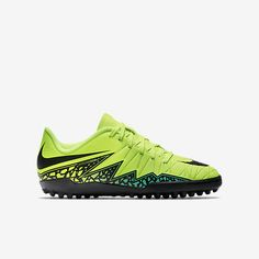 new concept 5e8e5 2140e Nike Jr. Hypervenom Phelon II Little Kids  Turf Soccer Shoe (10c-6y