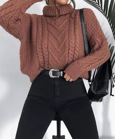 15 Trendy Autumn Street Style Outfits For This Year - fall outfits simple denim outfits fall fashion outfits, cute fall outfits fall outfits fall outfit ideas autumn outfits, 2019 fall fashion trends womens, fall fashion must haves, autumn outfits 2019 Cute Fall Outfits, Winter Fashion Outfits, Mode Outfits, Fall Winter Outfits, Sweater Fashion, Cute Casual Outfits, Cute Fashion, Look Fashion, Fashion Spring