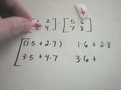 best explanation for multiplying matrices I have ever seen!