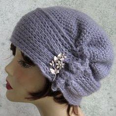 Crochet Pattern Womens Hat Brimmed With Side от kalliedesigns