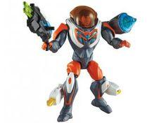 Max Steel Lançador de Mísseis - Mattel