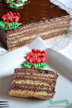 Dobos... My all time hands down most favorite cake in the whole wide world that I only get once a year for my birthday... It's so amazing.