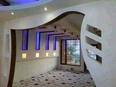 House Arch Design, House Ceiling Design, Bedroom False Ceiling Design, Floor Design, Shop Interior Design, Home Interior, Interior Design Living Room, Interior Decorating, Arch Designs For Hall