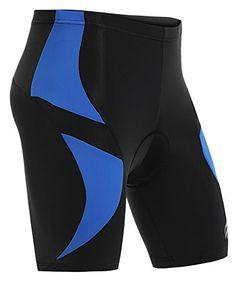 Ekouaer Men's Shorts Biking Bicycle Bike Padded Half Pants 3D Coolmax,Medium Read more  at the image link.