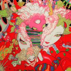 The Watercolours of Yoshitaka Amano, Art Inspo, Kunst Inspo, Art And Illustration, Illustrations, Art Anime, Anime Kunst, Psychedelic Art, Pretty Art, Cute Art