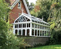 CONSERVATORY/HOTHOUSE/GREENHOUSE {inspiration}