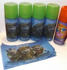 D.I.Y Troll Snot for Frozen Birthday Party