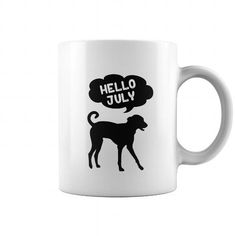 This is a great gift for Dogs lovers Hello July Tee Shirts T-Shirts