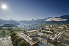 People are Calling This Rooftop Infinity Pool in the Swiss Alps the Stairway to Heaven the rest of the hotel isn't too shabby Hotel Villa Honegg Switzerland, Switzerland Hotels, Lucerne Switzerland, Infinity Pools, Hotels And Resorts, Best Hotels, Luxury Hotels, Hotels In France, Hotel Villas