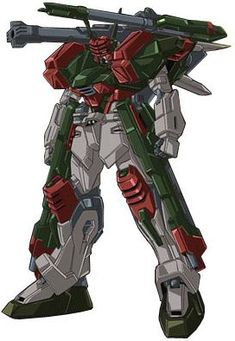 The GAT-X103AP Verde Buster Gundam is a Mobile Suit in the series Gundam SEED C.E. 73: Stargazer.