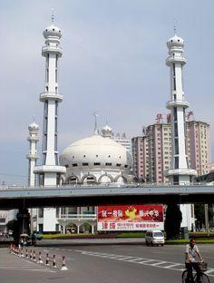 Qing Dynasty Xiguan Mosque, Lanzhou, China