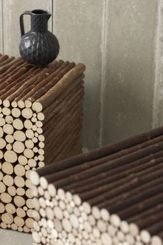 Twig by Pinch Design http://www.pinchdesign.com/twigbench.htm #wood #interiors #design