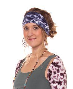 Electric Tie-Dye Organic Headband