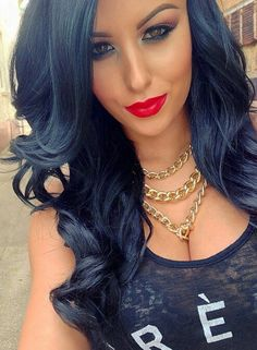Black - Long Hair | Makeup | Hair Extensions | Hair Color | Beautiful Women | Sexy Girls | Ciao Bella Hair | Venus Hair | Lingerie | Swimsuit Models | Bikini Models | Glamour Models | Celebrity