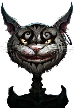 """Forgetting pain is convenient. Remembering it, agonizing. But recovering the truth is worth the suffering. And our Wonderland, though damaged, is safe in memory... for now"". - Cheshire Cat."