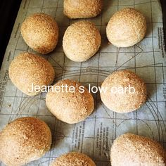 These buns are very light and fluffy and have an amazing texture… This recipe is from the very talented Maria Emmerich of Keto diet app, adapted somewhat by Diet Doctor, with a few additions … No Bread Diet, Low Carb Bread, Keto Bread, Low Carb Keto, Banting Bread, Bariatric Recipes, Ketogenic Recipes, Low Carb Recipes, Banting Recipes
