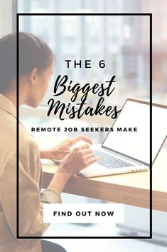 Having a hard time finding a remote job? You might be making one of these common remote job search mistakes! Here's what they are (and what to do instead). #workfromhome #workathome #remotework Home Based Jobs, Work From Home Jobs, Medical Coding Training, Common Interview Questions, Interview Process, Lost Job, Career Coach, The More You Know, Multi Level Marketing