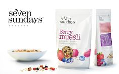 Seven Sundays Muesli — The Dieline - Branding & Packaging Design