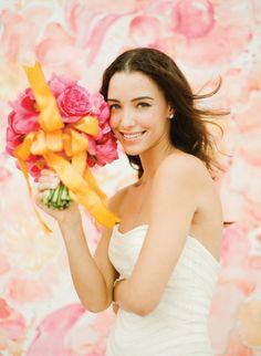 2014 Bezaubernde Orange Coral Blau Sommer Hochzeit Inspiration Brautmode Hochzeitskleider 2014 Bezaubernde Orange  Coral  Blau Hochzeit Inspiration