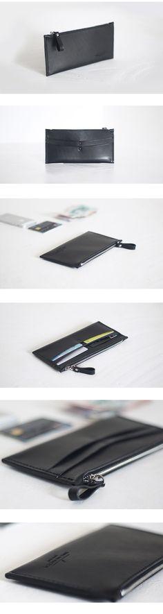 │Sparkling Select│極簡設計 真皮 極簡 超薄長夾 直購價: $ 1,380 元