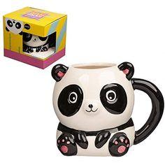 Cutiemals Panda Mug Ceramic panda mug from the Cutiemals range. Food safe but cannot be used in the dishwasher or microwave. Office Canteen, Novelty Mugs, Dinner Table, Mug Cup, Safe Food, Dishwasher, Panda, Great Gifts, Cute Animals